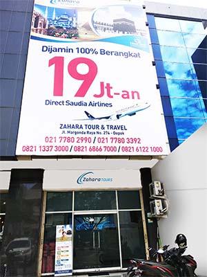 Kantor Zahara Tour Umrah Murah Di Depok Jakarta