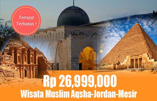 Paket Wisata Muslim Aqsha Jordan Mesir