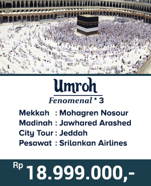 Umroh hemat 2019 Jakarta.