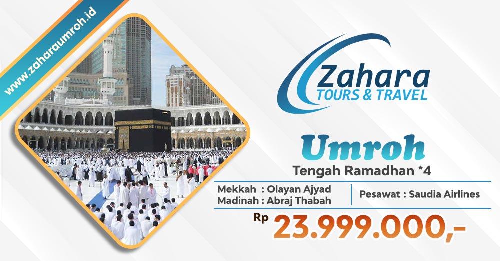 Umroh Tengah Ramadhan 2020