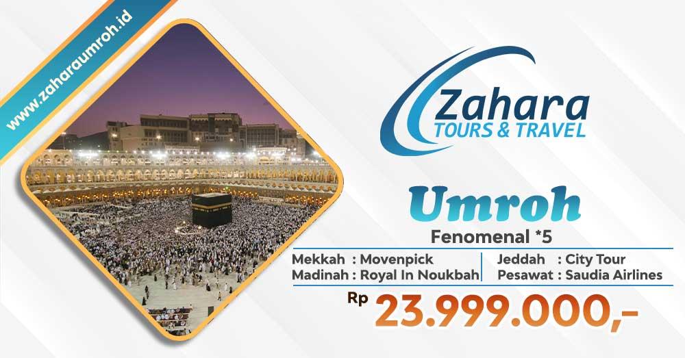 Umroh November 2020 Fenomenal Jakarta Zahara Travel