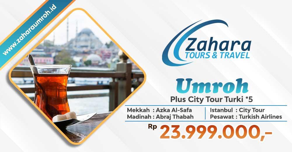 Umrah Oktober Pls City Tour Turki Jakarta 2020