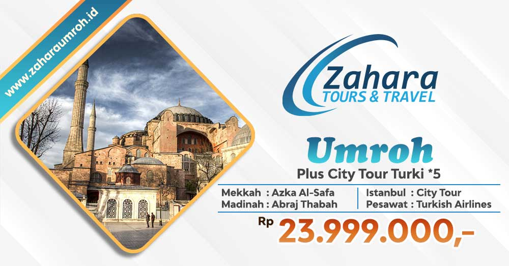 Umroh September Plus City Tour Turki