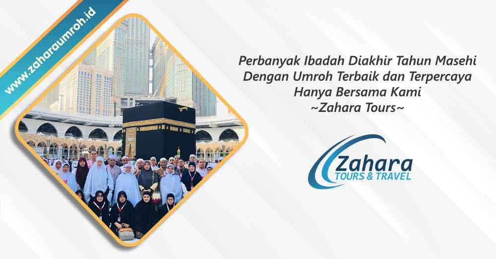 Umroh akhir tahun 2020 Jakarta Zahara Tour