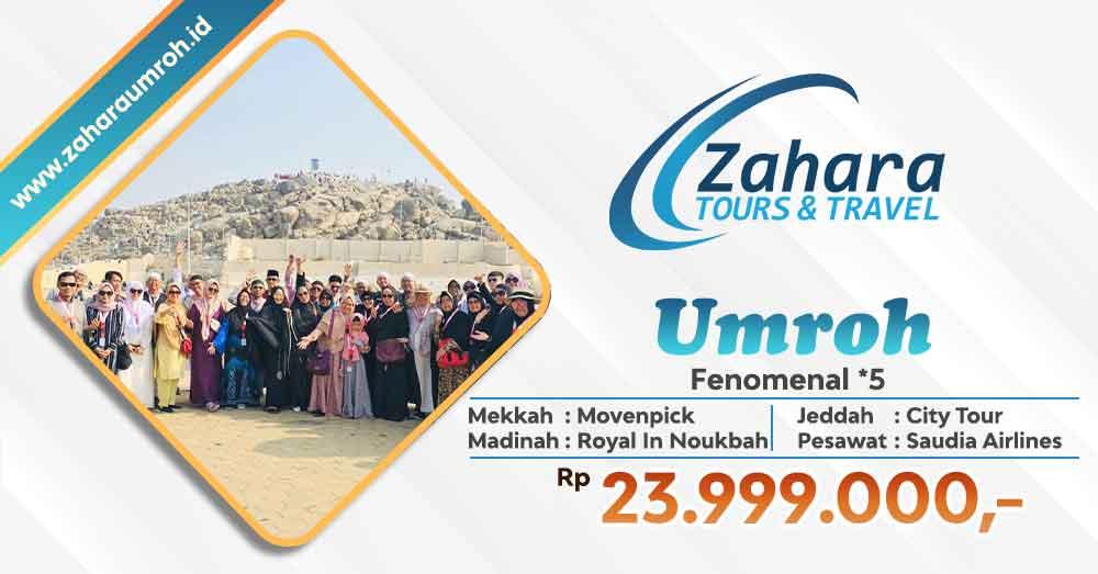 Umroh Akhir tahun 2020 Fenomenal Jakarta Zahara Tour
